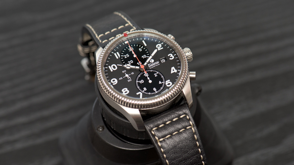evolution theory tutima grand flieger classic chronograph
