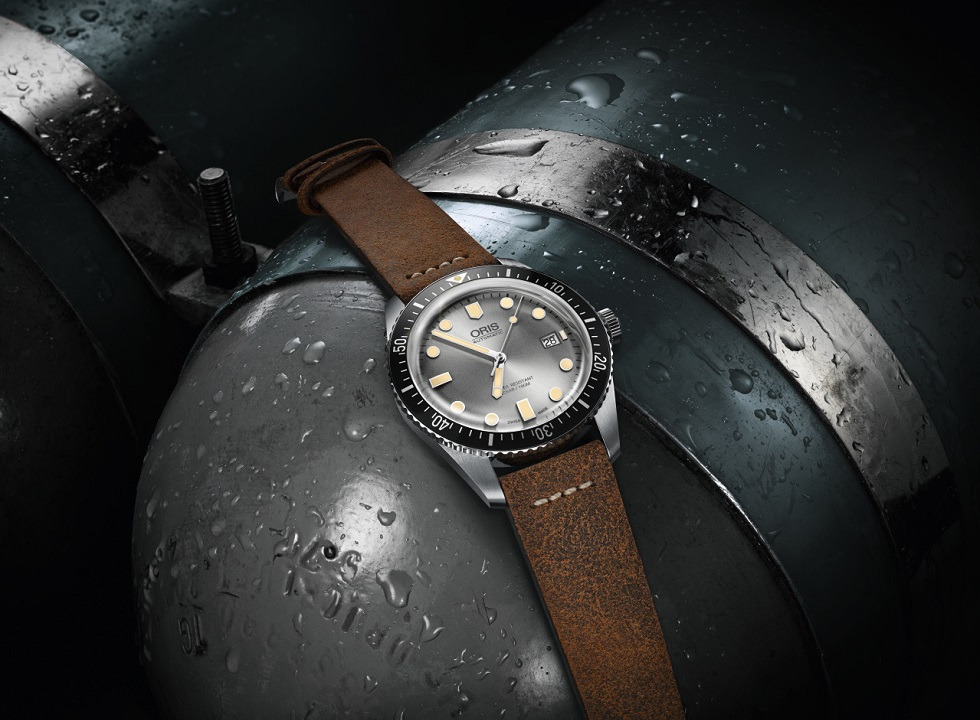 Oris Divers Sixty-Five With Silver Dial