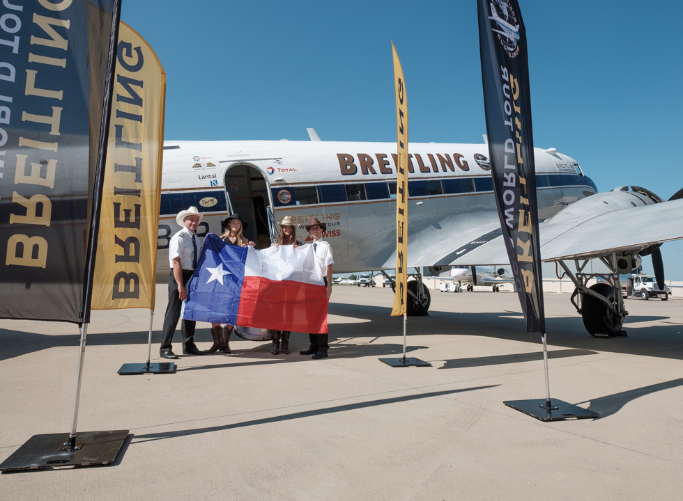 Breitling DC-3 World Tour