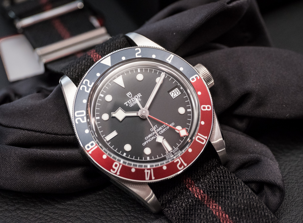 Here's Watchuseek's first look at the Tudor Black Bay GMT from Baselworld 2018