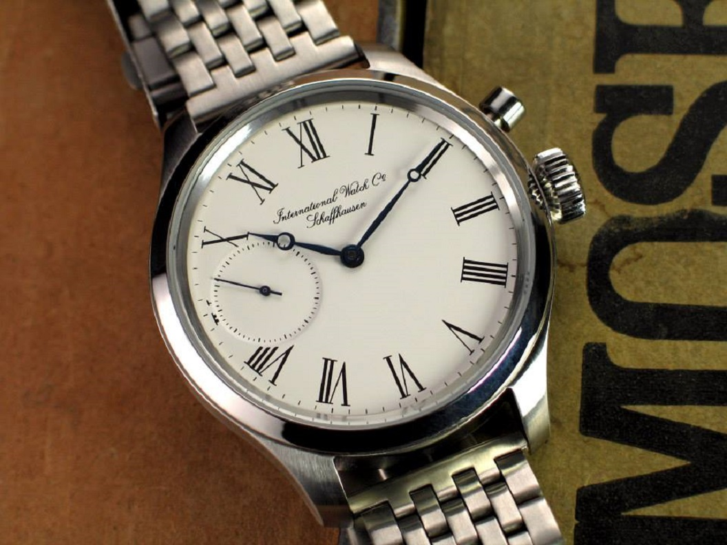 TNT restores a vintage IWC watch