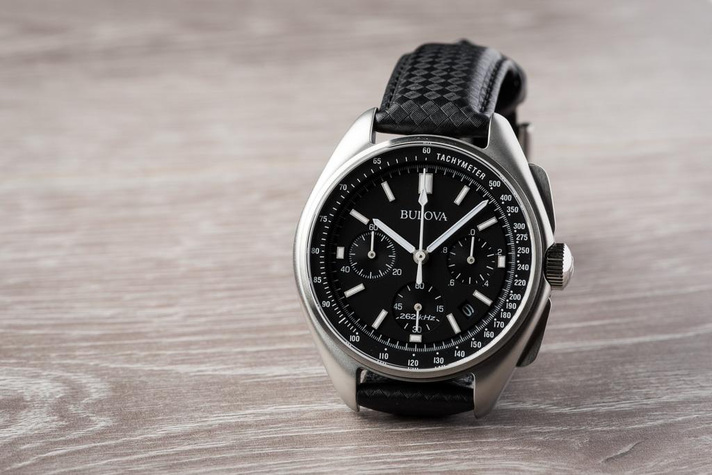 60a504fc7d0 The Bulova Moon Chronograph is an homage to the original watch Bulova made  for David Scott