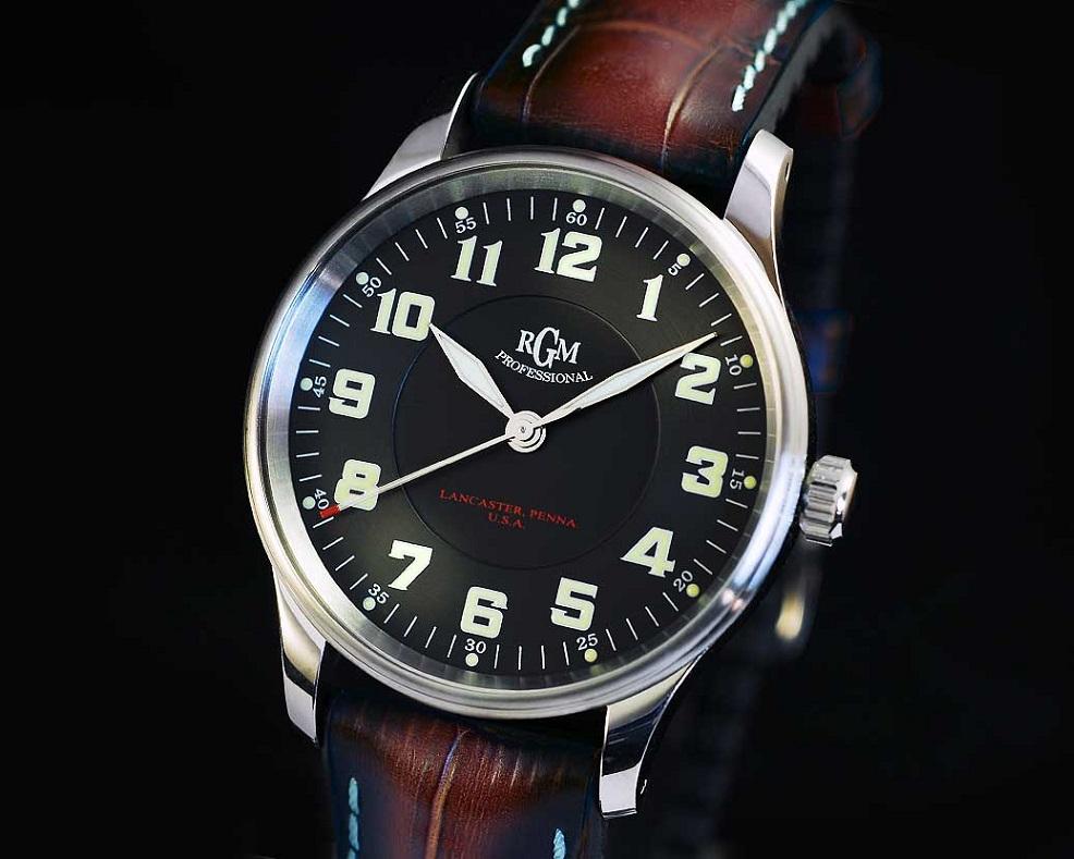 Rgm releases new model 151 pr professional pilot for Hamilton dive watch