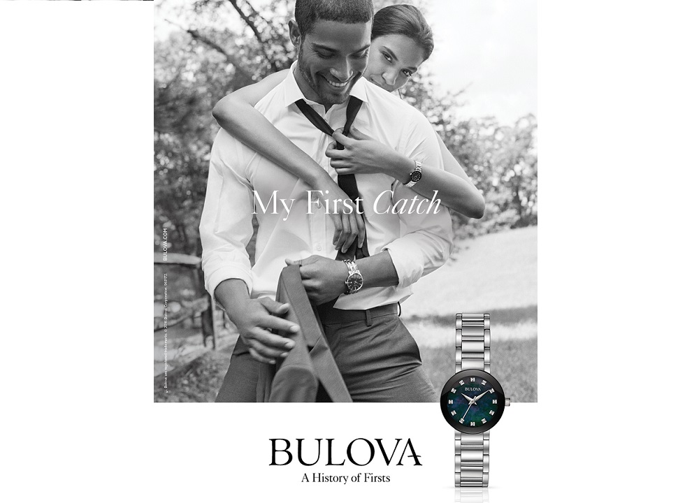 Bulova's new ad campaign celebrates a history of firsts