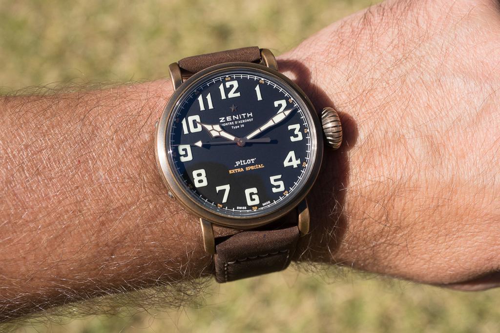 Review Zenith Pilot Type 20 Extra Special Bronze