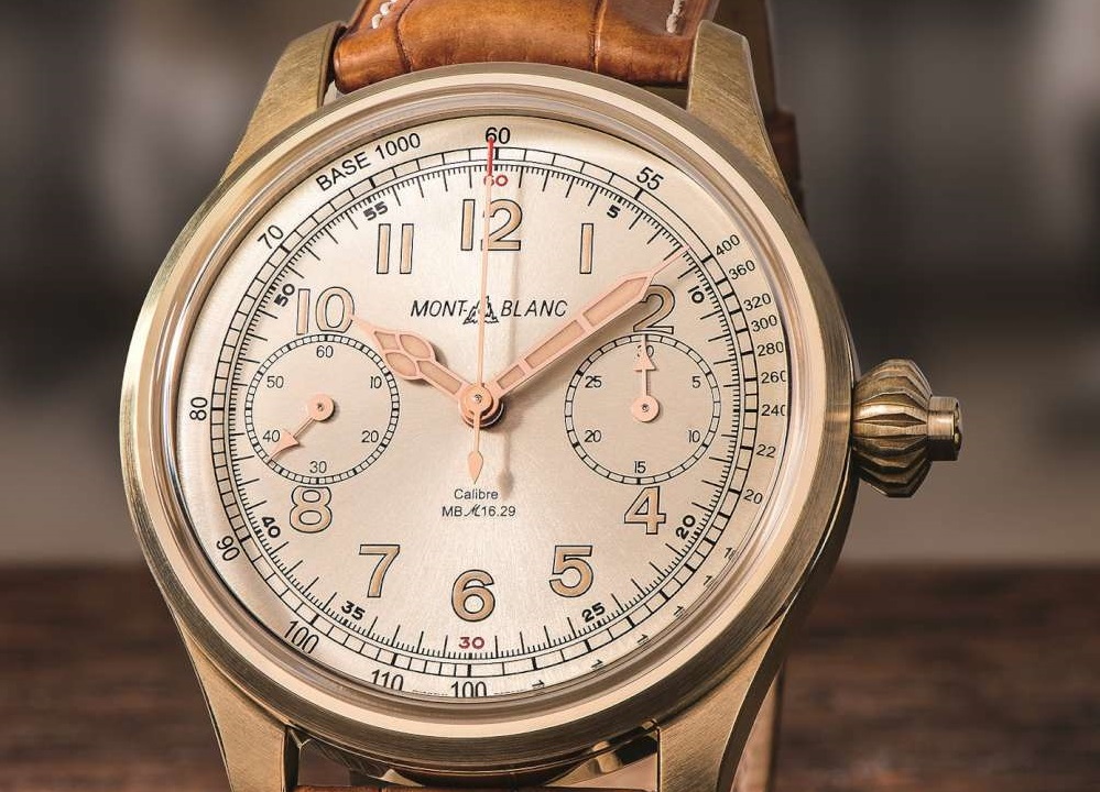 Montblanc 1858 Chronograph Tachymeter Limited Edition Voted GPHG Finalist