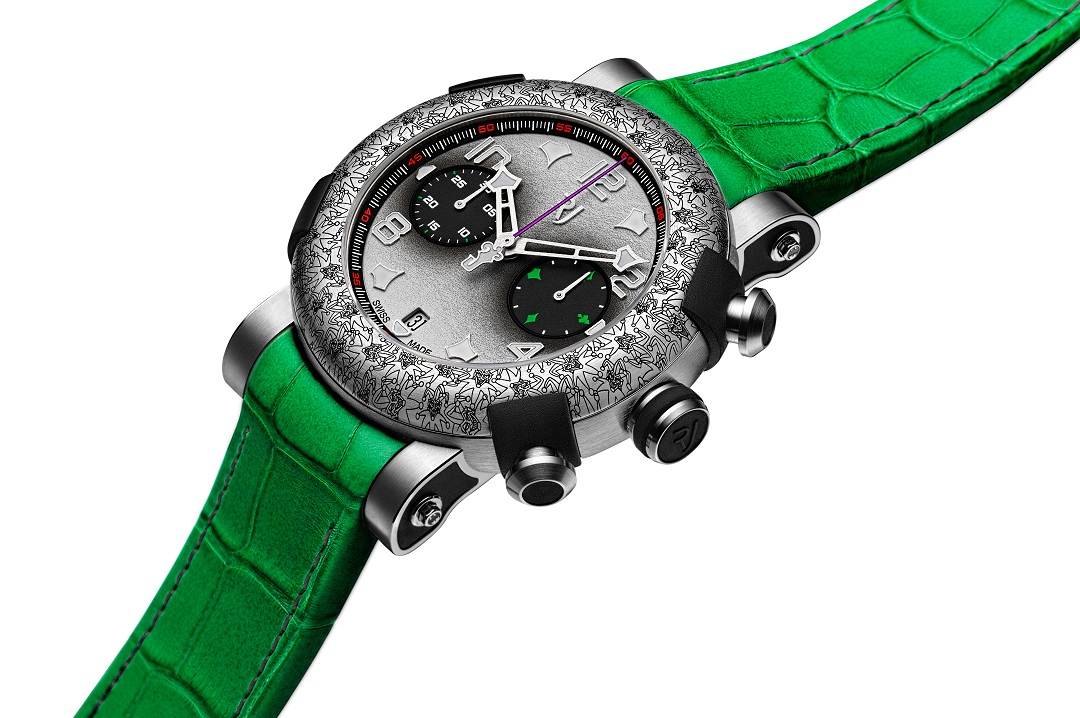 RJ Arraw The Joker and Two Face: New DC Comics Collaborations from RJ Watches