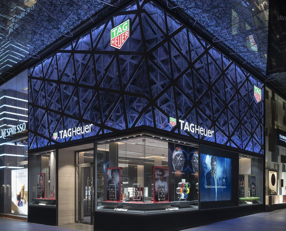 Store Tags: TAG Heuer Opens Flagship Westfield Sydney Store