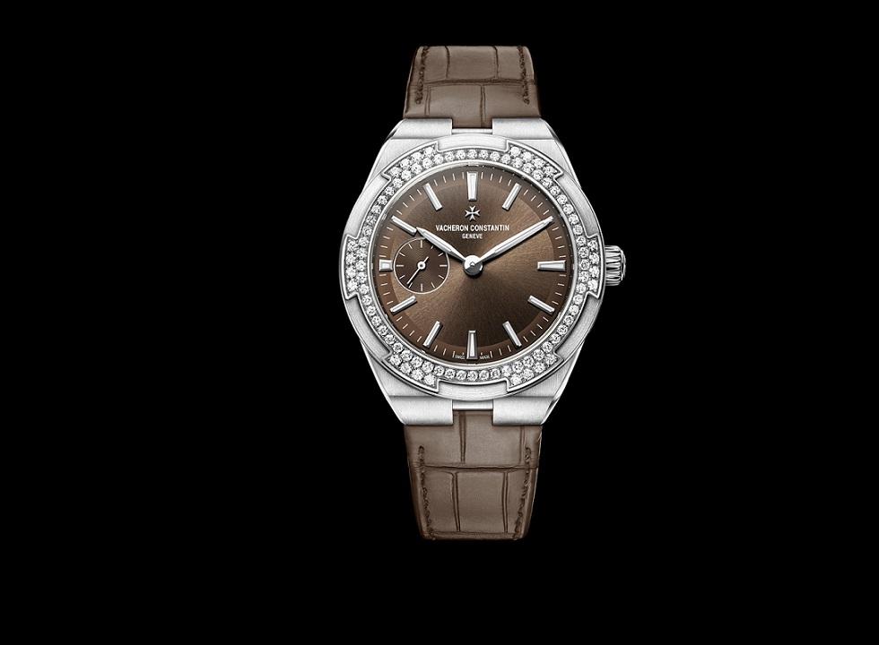 Lady Overseas marron 2305V-100A-B171 bracelet cuir