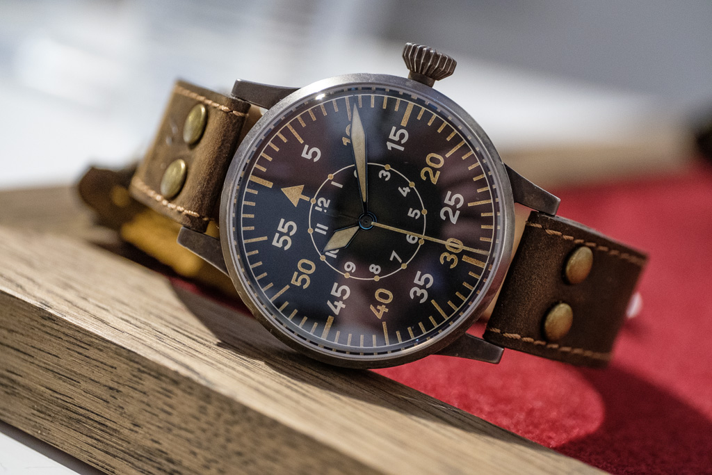 Baselworld 2017 Laco Report: Fifty Shades of Flieger