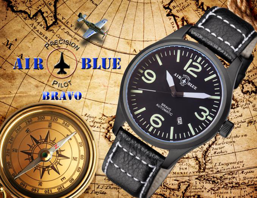 AIR BLUE Pilot's Watches