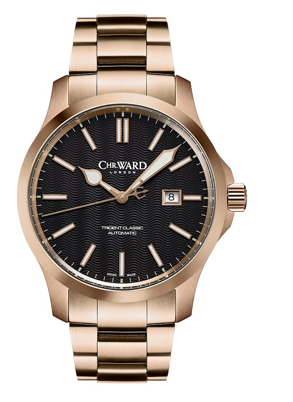 Christopher Ward C65 Trident Classic – Rose Gold
