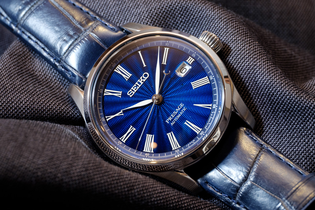 This year Seiko released two limited editions that are outstanding in their finish and value proposition in the Seiko Presage line of watches.