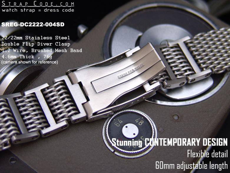 Régler shark mesh wjean 426584d1303649384-sold-22mm-shark-mesh-bracelet-57sreg_dc2222_004sd_3