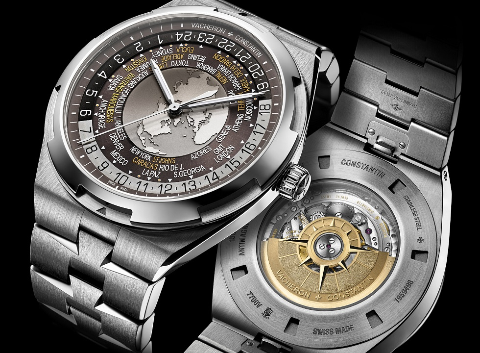 Vacheron Constantin introduces brown dials to Overseas Collection