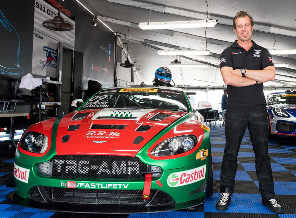 Derek DeBoer, TRG team Driver