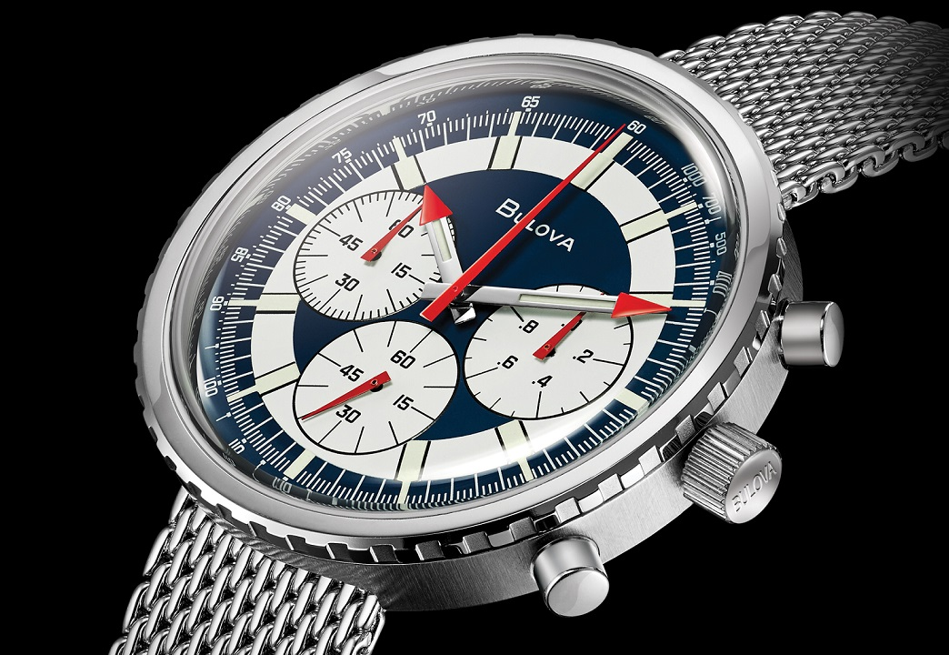 red bull air race vintage chronograph horloge