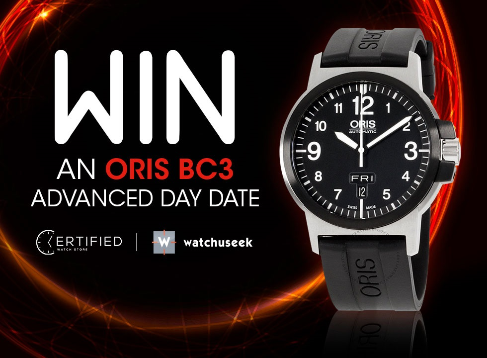 Here's how to win an ORIS BC3 Advanced Day