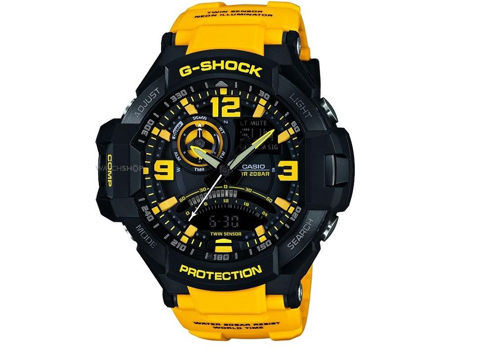 g shock ga 1000 manual