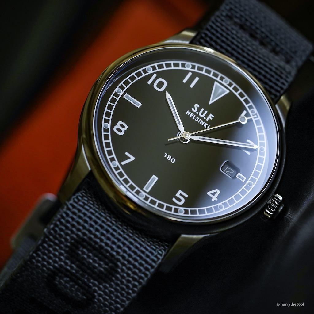 SUF 180 Black Dial