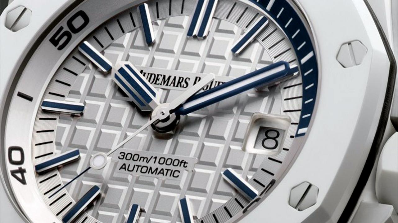 Super White Ceramic: Audemars Piguet Royal Oak Offshore Diver
