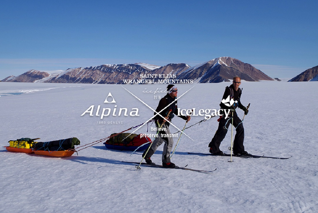 Alpina And ICELEGACY Borge Ousland Vincent Colliard Cross - Alpina alaska