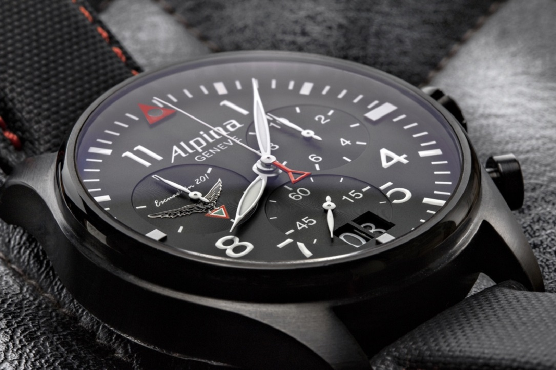 Alpina Startimer Pilot Chronograph Big Date St Squadron LE - Alpina watch review