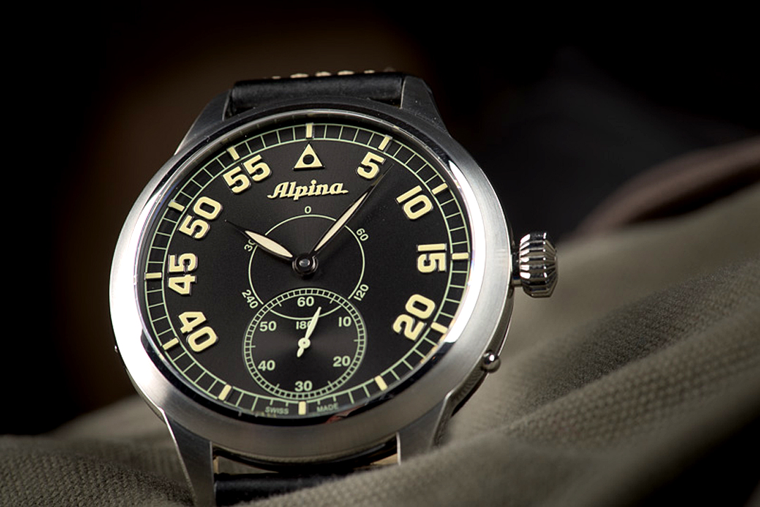 Watches review of Alpina Pilot Heritage