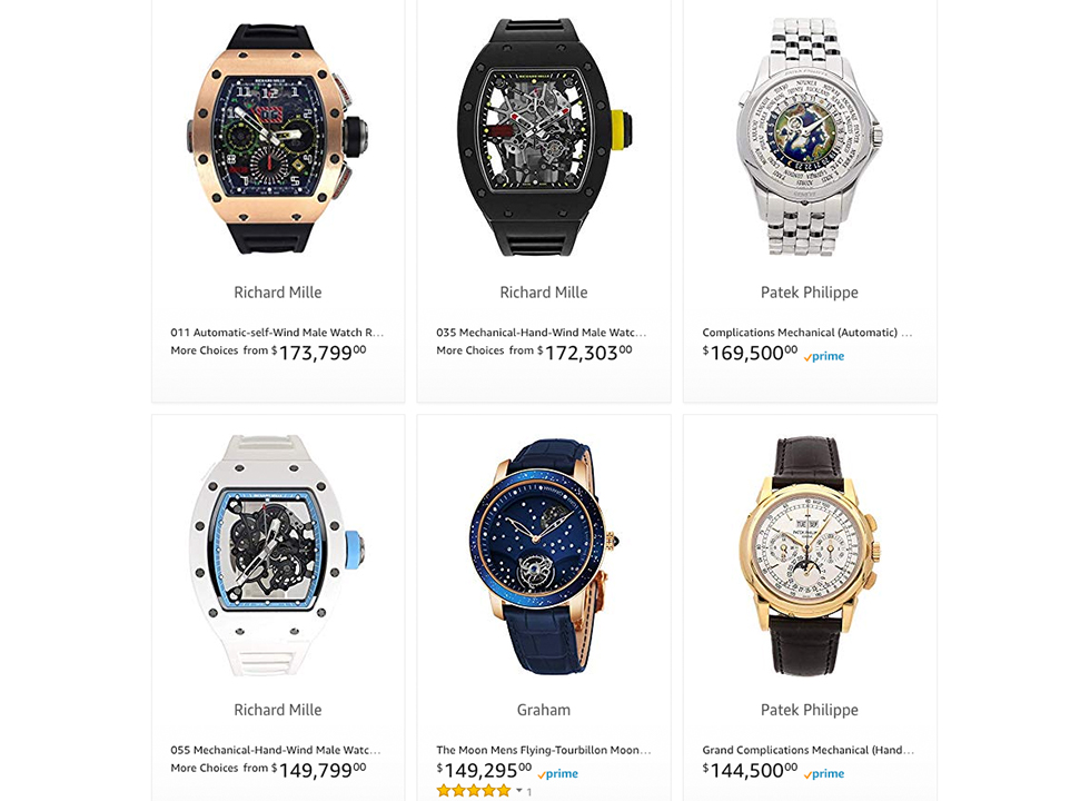 Amazon Luxury Watches