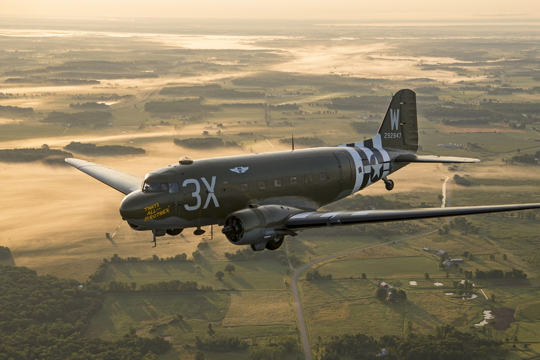 Own A Piece of Aviation History: Tockr D-Day C-47