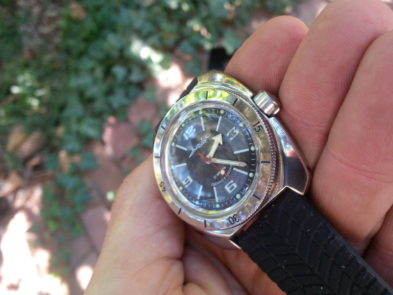 Name:  Amphibia SE with new dial and crown.jpg Views: 241 Size:  138.6 KB