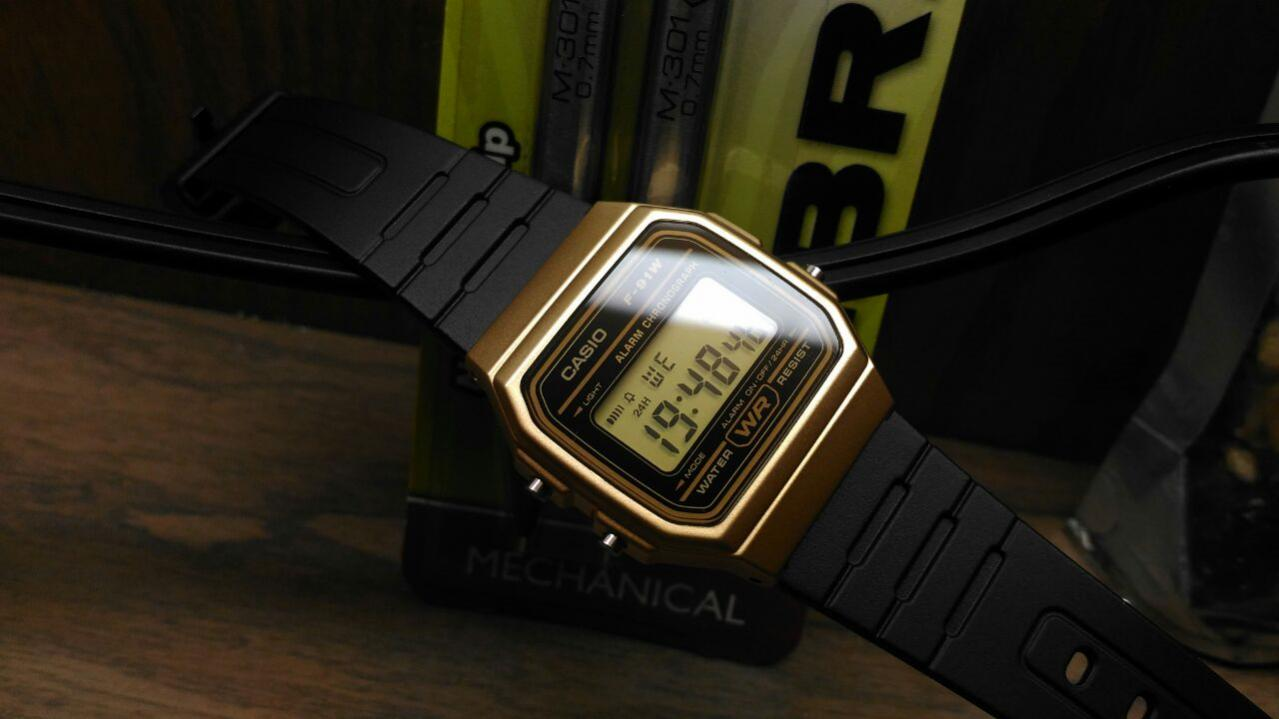 Name:  April 12 Casio F91W gold  special .jpg Views: 336 Size:  69.3 KB