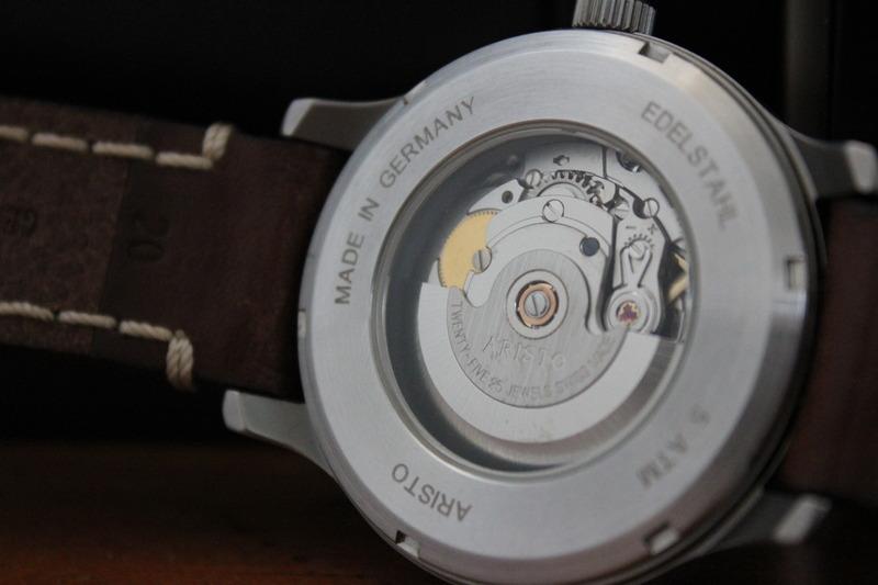 Name:  Aristo Pilot 3H114 on brown Panatime strap with white stitch6.jpg Views: 102 Size:  76.9 KB