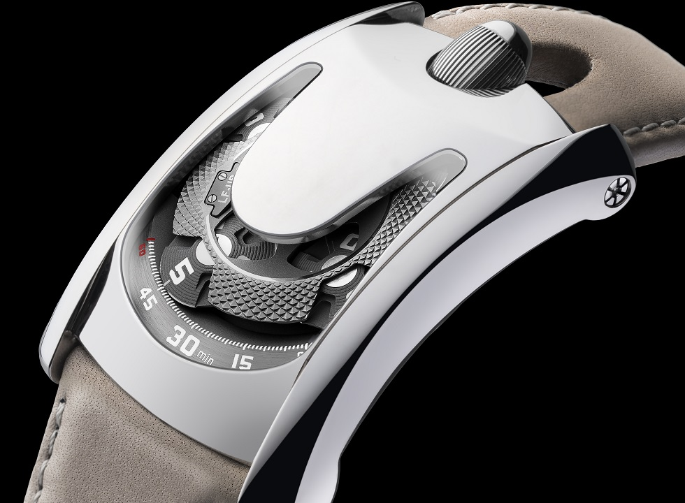 Arpal One, a unique watch signed by Laurent Ferrier and URWERK