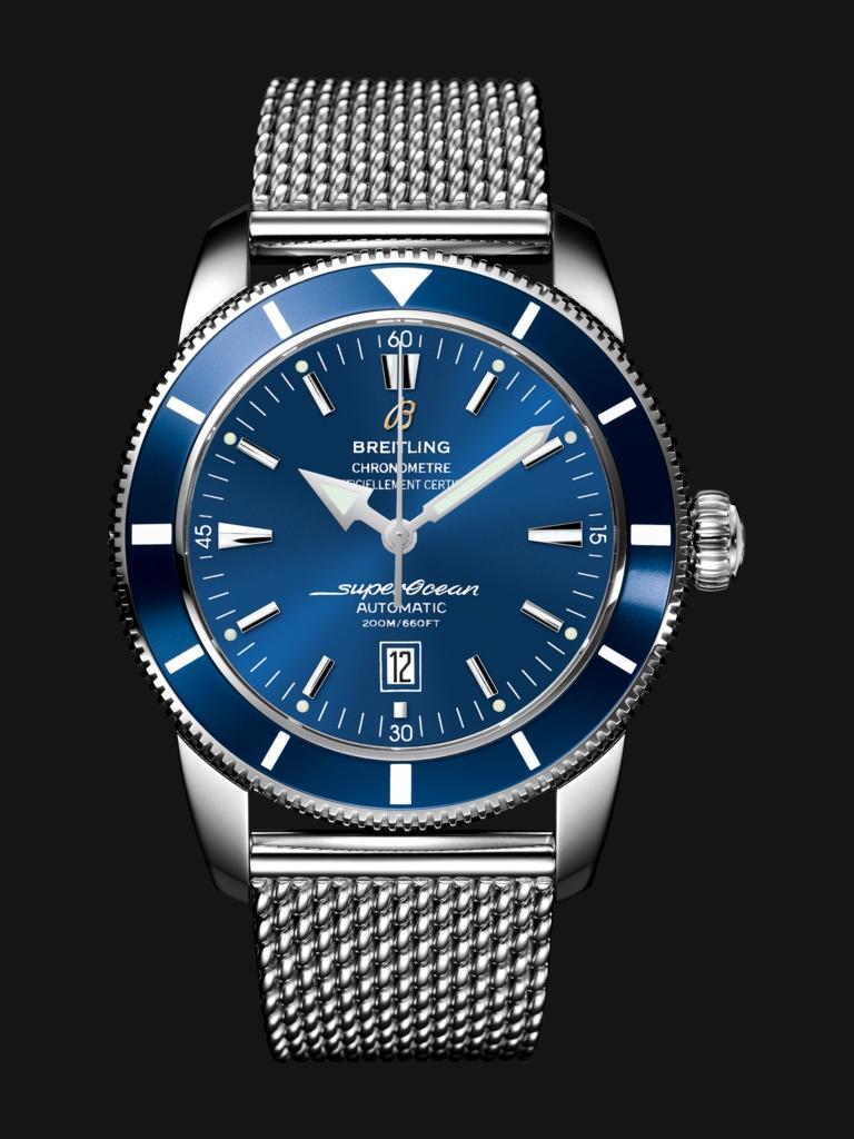 Breitling Superocean Heritage 46mm In Black Or Blue