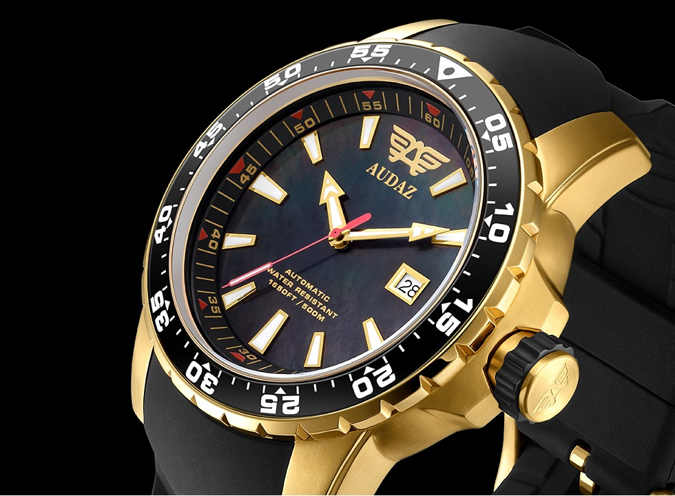 Watchuseek Special: 30% Discount on an AUDAZ SCUBA MASTER Automatic Watch
