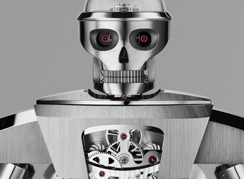 MB&F x L'Epee Balthazar Robot Clock