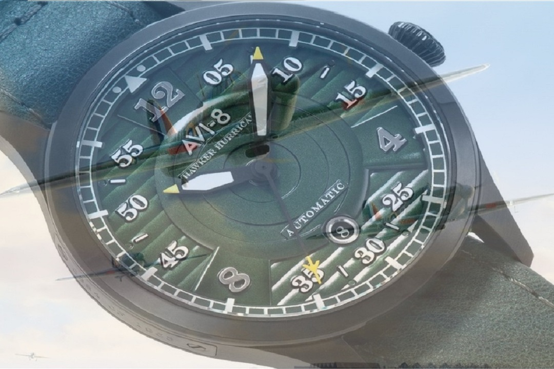 AVI-8 Hawker Hurricane Model Commemorates Battle Of Britain