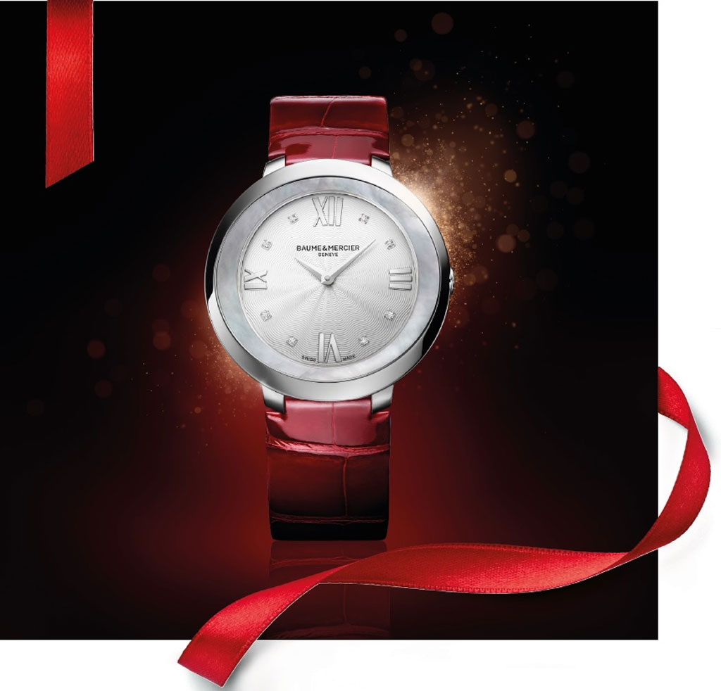 Baume & Mercier's Holiday Season Message