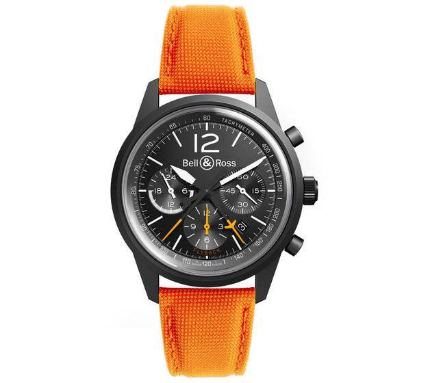 Name:  Bell & Ross BR126 Blackbird orange strap.jpg Views: 3109 Size:  38.2 KB