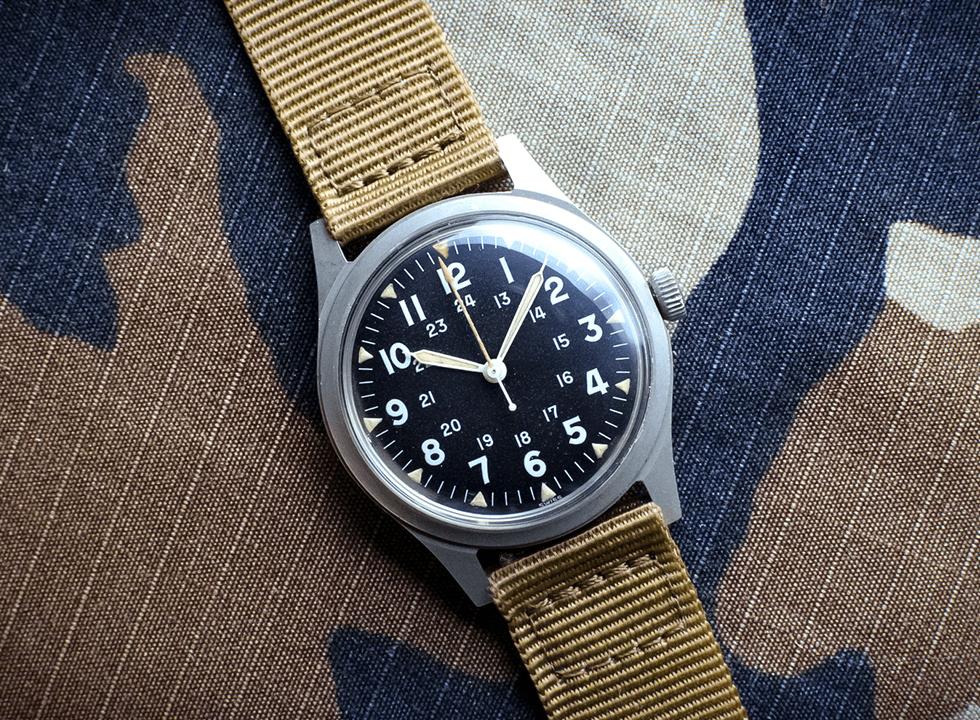 vintage benrus watch