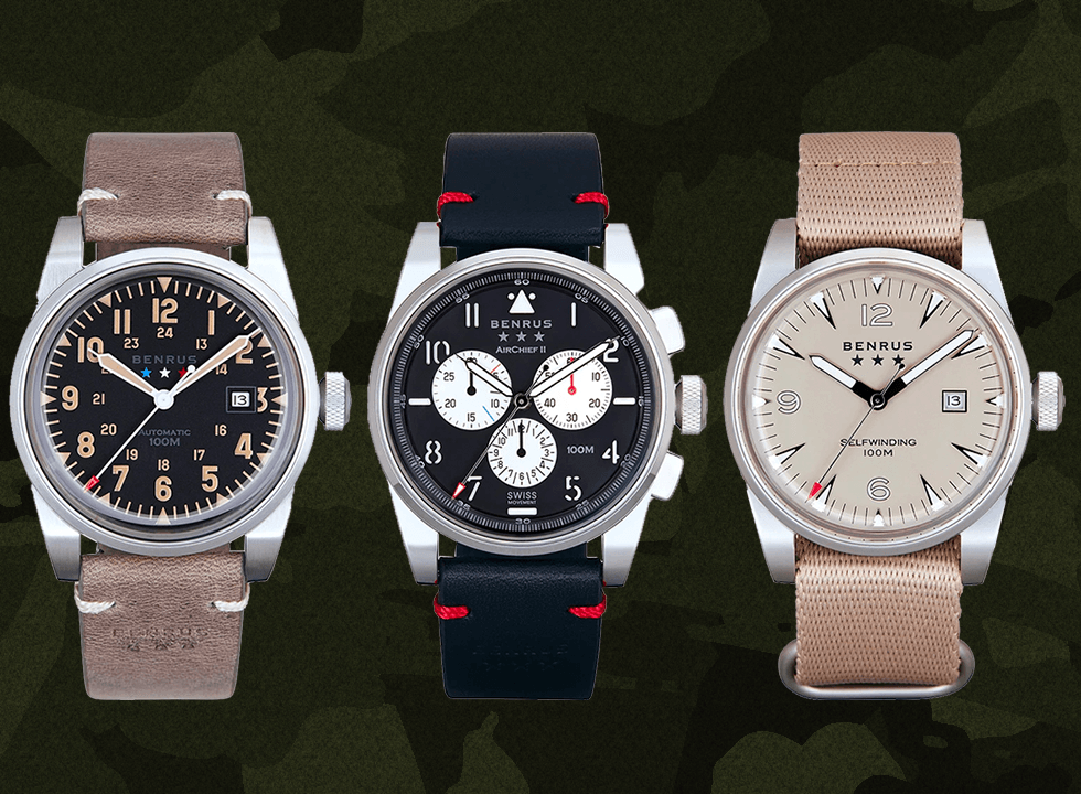 new benrus watch collection
