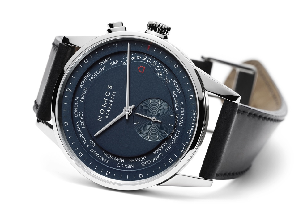 It's hard to make a watch with two time zones and a full-on city ring while still maintaining a clear face, but Nomos has somehow pulled it off with the Nomos Zurich World Time.