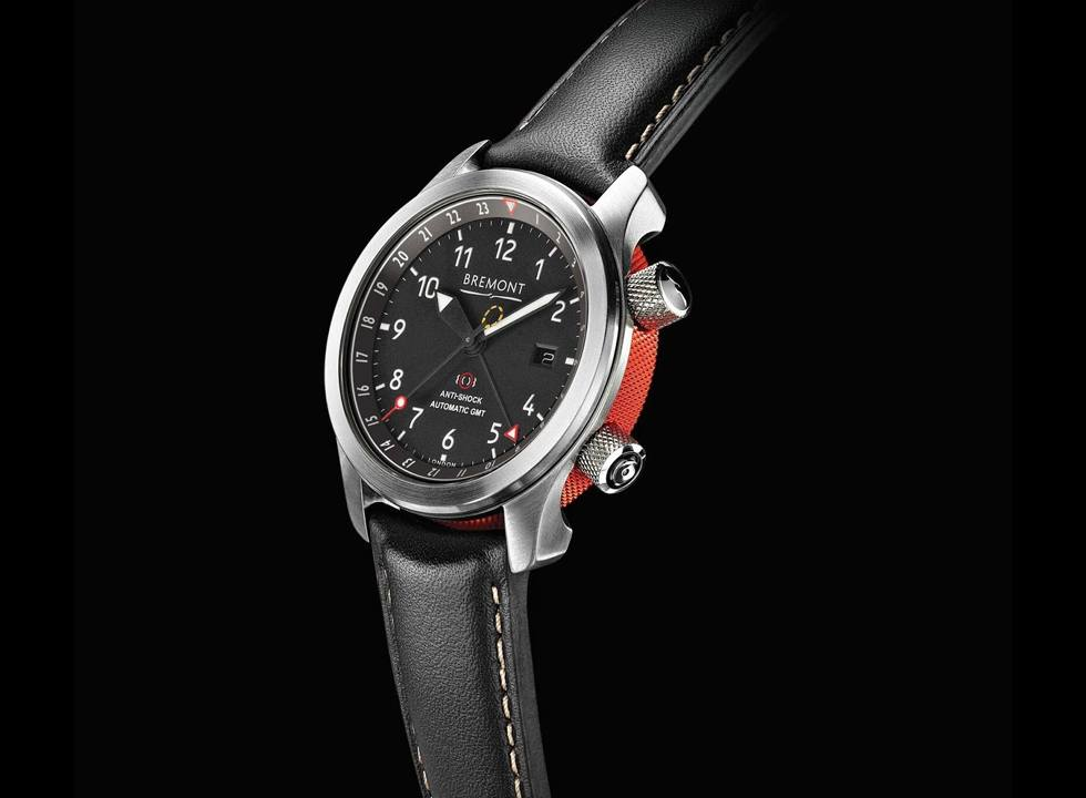 While the brand has quite a few GMTs in its lineup, none are more iconic than the Bremont MBIII, making it a clear choice as one of the best GMT watches.