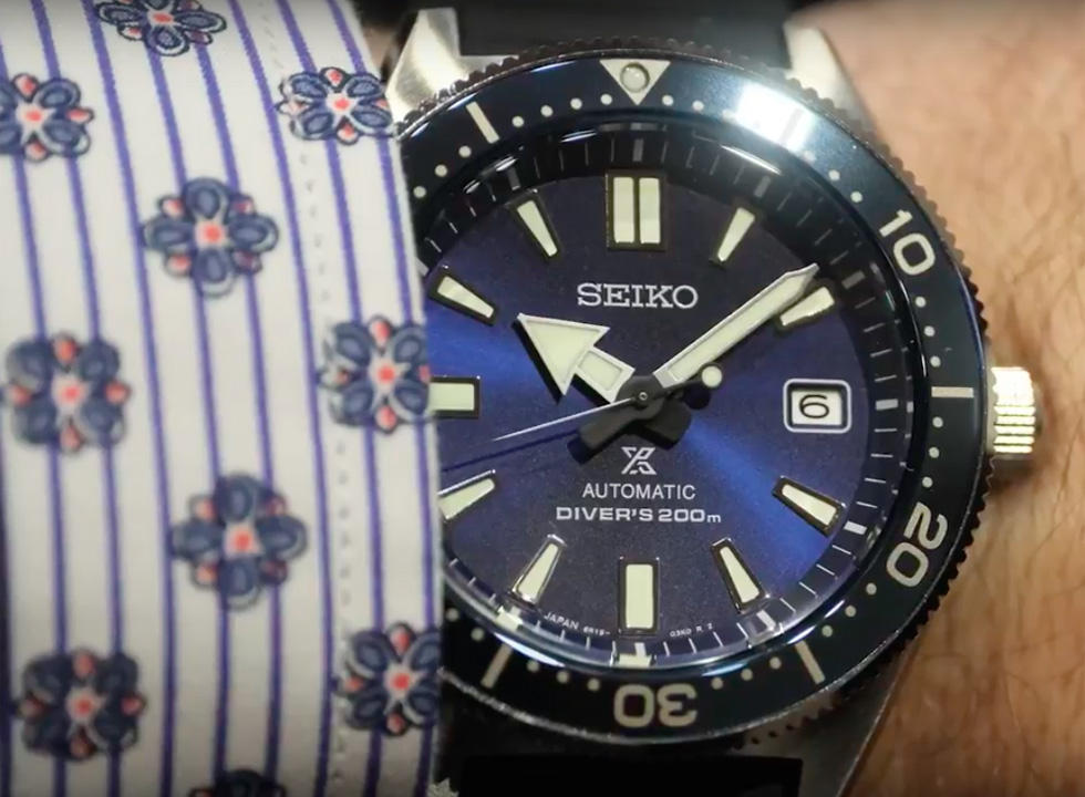 Best Watches of Baselworld Day 2: Seiko SPD053, Bulova Curve, Fabergé Visionaire Chronograph Ceramic