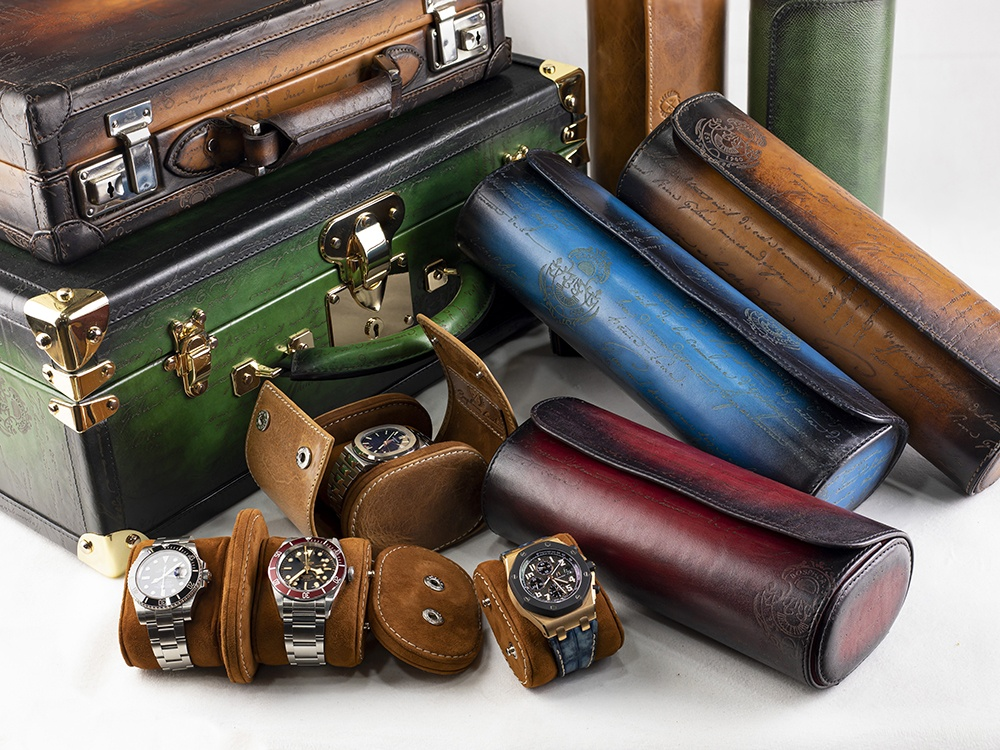 Bosphorus Leather's full lineup includes everything from cases to trunks, rolls and winders – all made of the highest-quality genuine leathers.