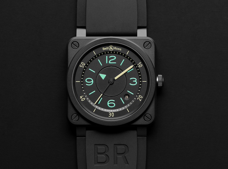 Bell & Ross watches have developed their iconic image based on the instrument panels you would find in the cockpit of a plane.