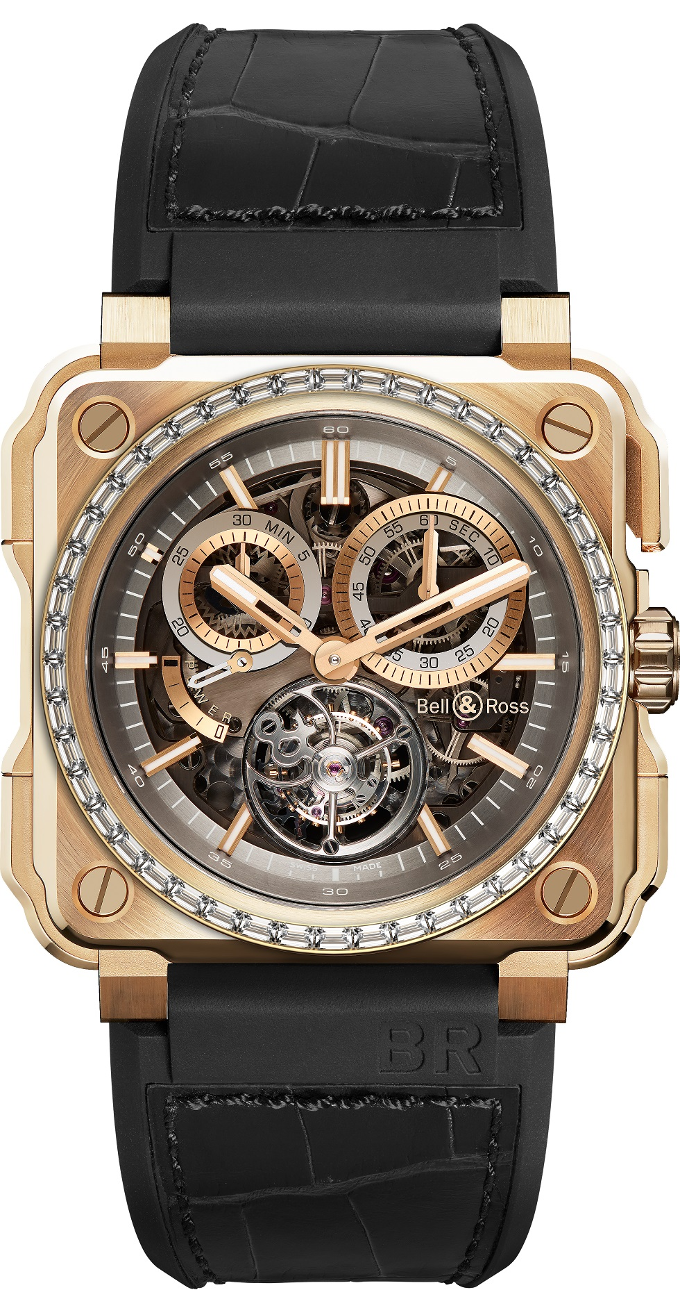Bell & Ross BR-X1 Chronograph Tourbillon LE Watch