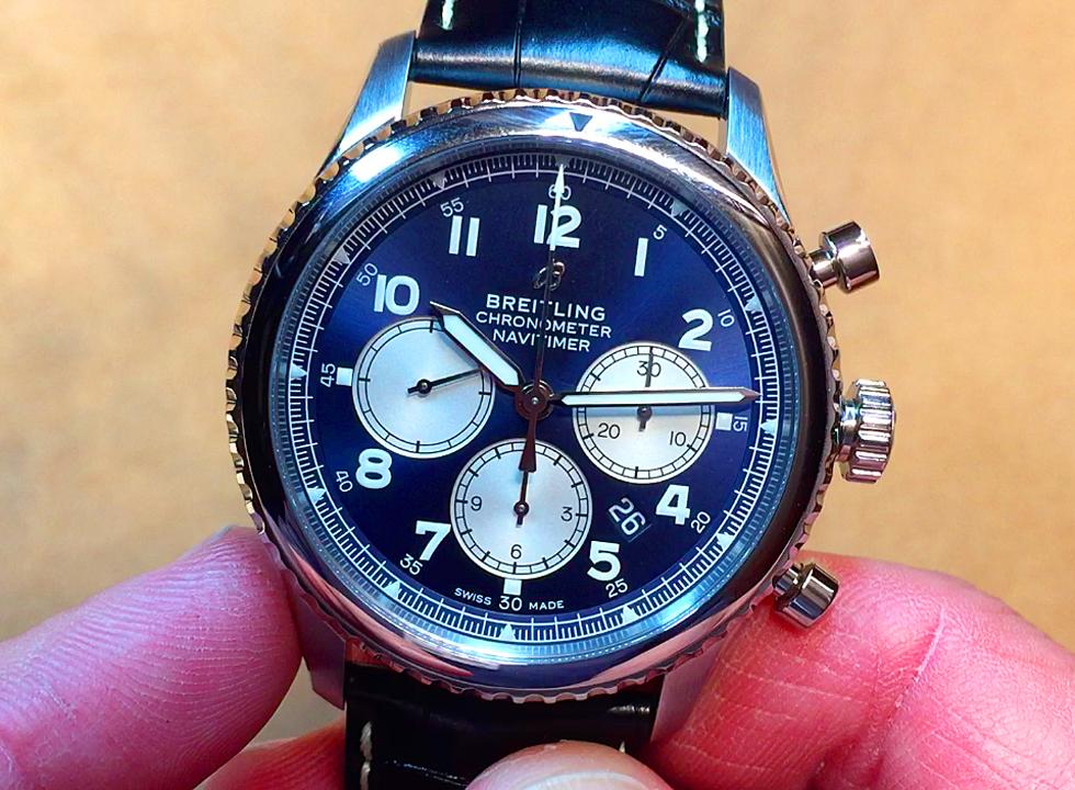 Breitling Navitimer 8 Chronometer Hands-On Video from Baselworld