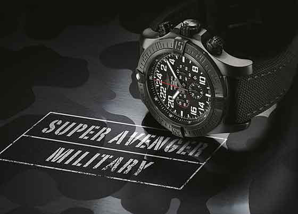 Solid, Precise and Powerful: Breitling Super Avenger Military